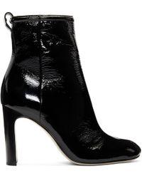 Rag & Bone - Black Patent Ellis Boots - Lyst