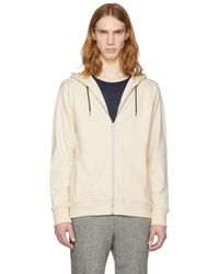 PS by Paul Smith | Off-white Zip Hoodie | Lyst