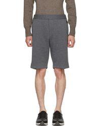 Bottega Veneta - Grey Sweat Shorts - Lyst