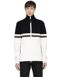 Diesel Black Gold - Black & White Track Jacket - Lyst