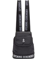 Opening Ceremony - Black Mini Logo Backpack - Lyst
