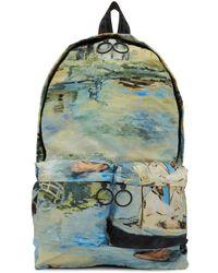 Off-White c/o Virgil Abloh - Multicolor Lake Backpack - Lyst