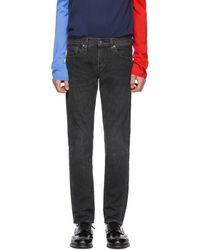 Levi's - Black Selvedge 511 Slim Jeans - Lyst