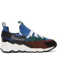 Pierre Hardy - Multicolor Trek Comet Sneakers - Lyst