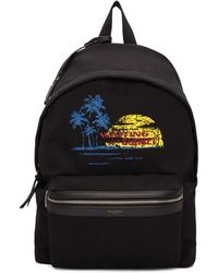 Saint Laurent - Black Sunset Backpack - Lyst