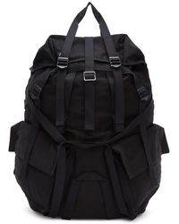 Julius - Black Straps Backpack - Lyst