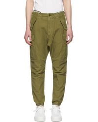 R13 - Green Military Surplus Cargo Trousers - Lyst