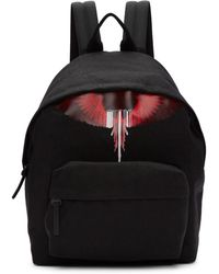 Marcelo Burlon - Black Wings Barcode Backpack - Lyst