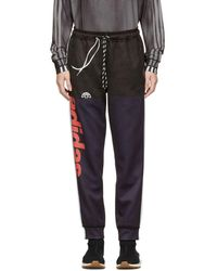 Alexander Wang - Navy And Black Photocopy Lounge Pants - Lyst