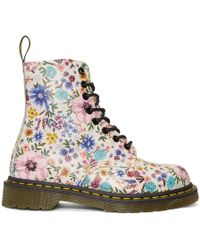 Dr. Martens - White Pascale Wanderlust Boots - Lyst