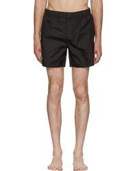 Moncler - Black Dolmias Beach Swim Shorts - Lyst