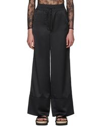 Off-White c/o Virgil Abloh - Pantalon cargo noir Pajama - Lyst