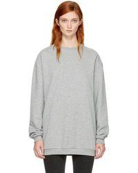Won Hundred - Grey Munich Sweatshirt - Lyst
