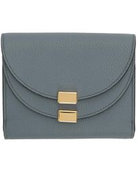 Chloé - Blue Georgia Square Wallet - Lyst