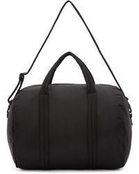Yeezy - Black Nylon Crossbody Messenger Bag - Lyst