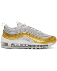 Nike - Gold And Silver Air Max 97 Se Sneakers - Lyst