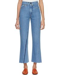 Ports 1961 - Blue Contrast Pocket Jeans - Lyst
