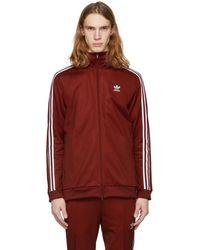 adidas Originals - Red Franz Beckenbauer Track Jacket - Lyst