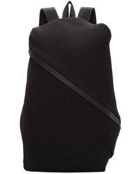 Pleats Please Issey Miyake - Black June Bias Pleats Backpack - Lyst 233450a2c9