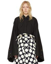 Awake - Black Kimono Sleeve Shirt - Lyst