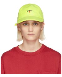 Noah - Yellow Neon Six Panel Cap - Lyst