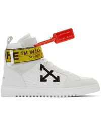 a3d19a567260 Off-White c o Virgil Abloh - White Industrial High-top Trainers -