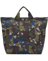 PS by Paul Smith - Multicolor Camouflage Tote - Lyst