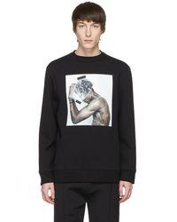 Neil Barrett - Black Hybrid Tattoo Sculpture 01 Sweatshirt - Lyst