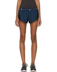 adidas By Stella McCartney - Blue Run Adizero Shorts - Lyst