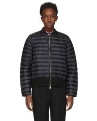 Moncler - Black Down Barytine Jacket - Lyst