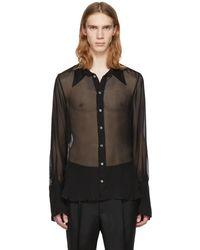 Ann Demeulemeester - Black Boundless Shirt - Lyst