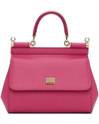 Dolce & Gabbana - Pink Small Miss Sicily Bag - Lyst
