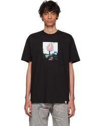 7d7381f7 Palm Angels Burning Cowboy T-shirt Black/multi in Black for Men - Lyst
