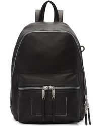 Rick Owens | Black Small Backpack | Lyst
