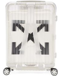 Off-White c/o Virgil Abloh - White Rimowa Edition See Through Carry-on Suitcase - Lyst