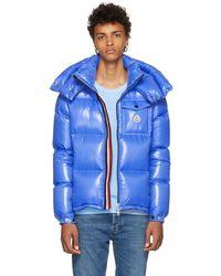 Moncler - Blue Montebelliard Down Jacket - Lyst
