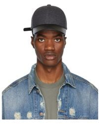 Mackage - Grey And Black Zoltan Cap - Lyst