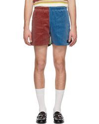 Noah - Multicolor Corduroy Winter Running Shorts - Lyst