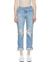 Levi's - Blue 501 Classic Jeans - Lyst