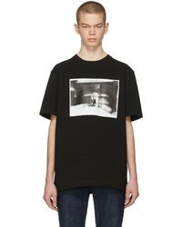 CALVIN KLEIN 205W39NYC - Black Electric Chair Pocket T-shirt - Lyst