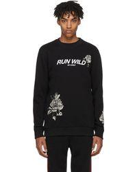 Givenchy - Black Run Wild Sweatshirt - Lyst