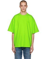 Balenciaga - Green Ego Back T-shirt - Lyst