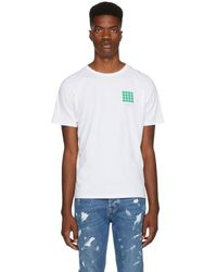 Saturdays NYC - White Density Chest T-shirt - Lyst