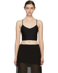 Ann Demeulemeester | Black La Fille Do Edition Nano Bra | Lyst