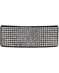 Marc Jacobs - Black Redux Grunge Oversized Resin Strass Barrette - Lyst