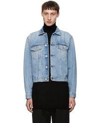 Unravel - Blue Intro Rigid Denim Chopped Jacket - Lyst