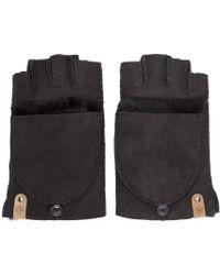 Mackage - Black Shearling Orea Gloves - Lyst