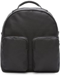 Yeezy - Black Nylon Pocket Backpack - Lyst