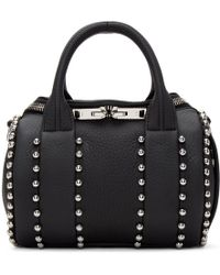 Alexander Wang - Black Mini Rockie Ball Stud Bag - Lyst
