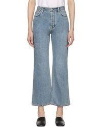 Acne Studios - Blue Taguhy Den Jeans - Lyst